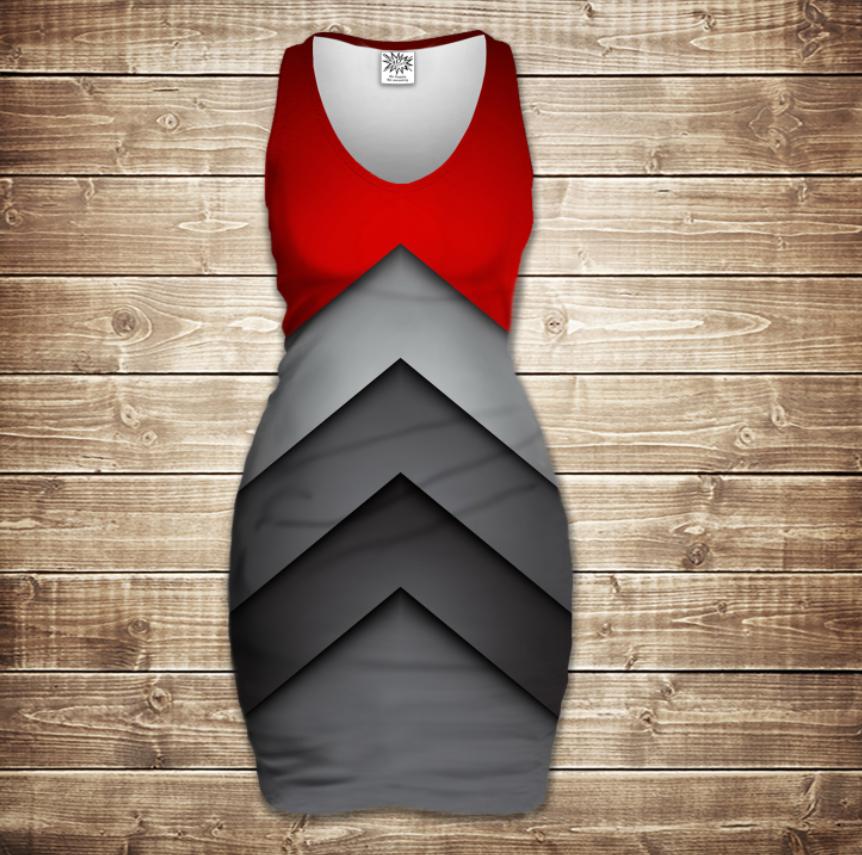 Плаття - майка 3D -   Fantastic tehno