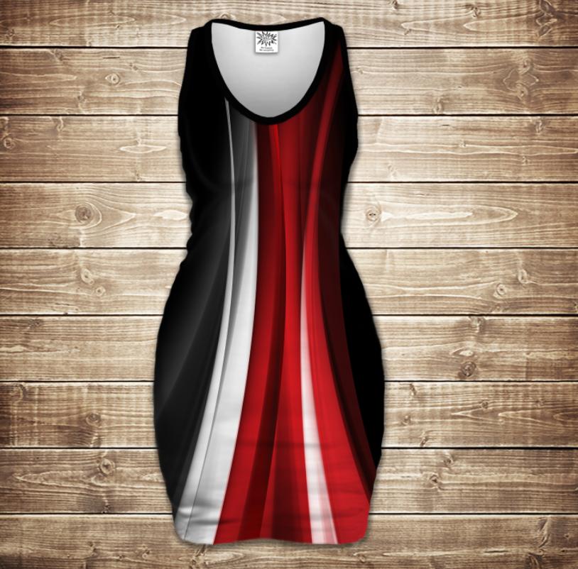Плаття - майка 3D - Anomaly