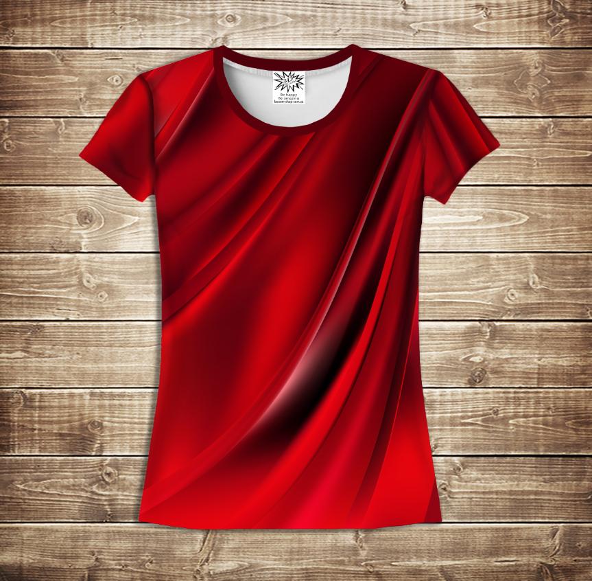 Футболка жіноча 3D - Red queen