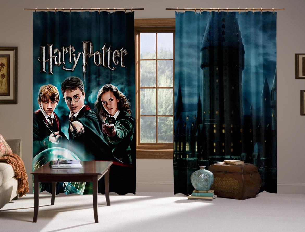 Штори 3D Гаррі Поттер Магія