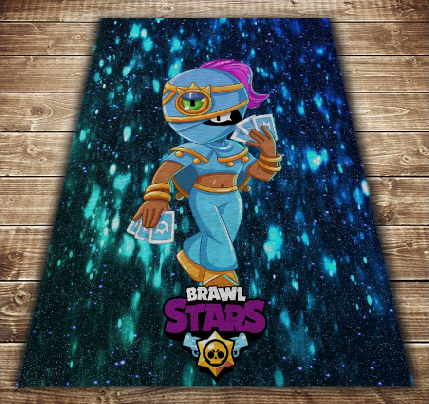 Плед з 3D принтом - Бравл Старс Тара Магія Brawl Stars