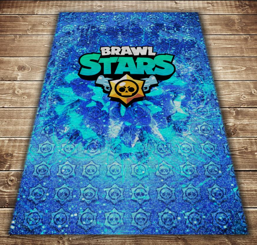 Плед з 3D принтом - Бравл Старс Brawl Stars