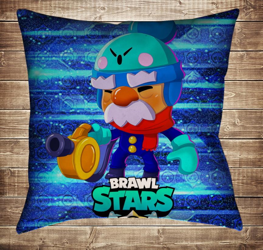 Подушка 3D - Бравл Старс Гейл Brawl Stars
