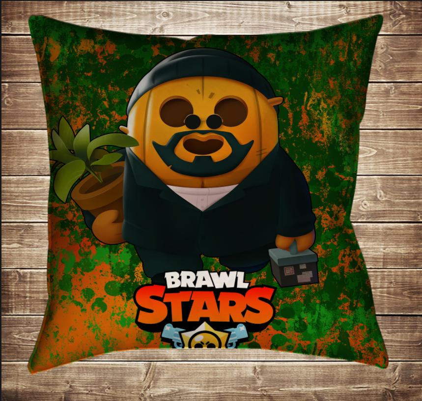 Подушка 3D - Бравл Старс Спайк Босс Скінс Brawl Stars