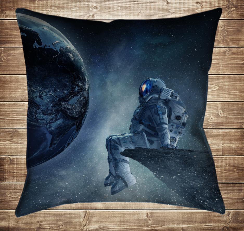 Подушка 3D - Астронавт
