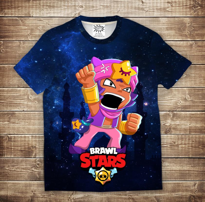 Футболка 3D дитяча Бравл Старс Сенді Brawl Stars