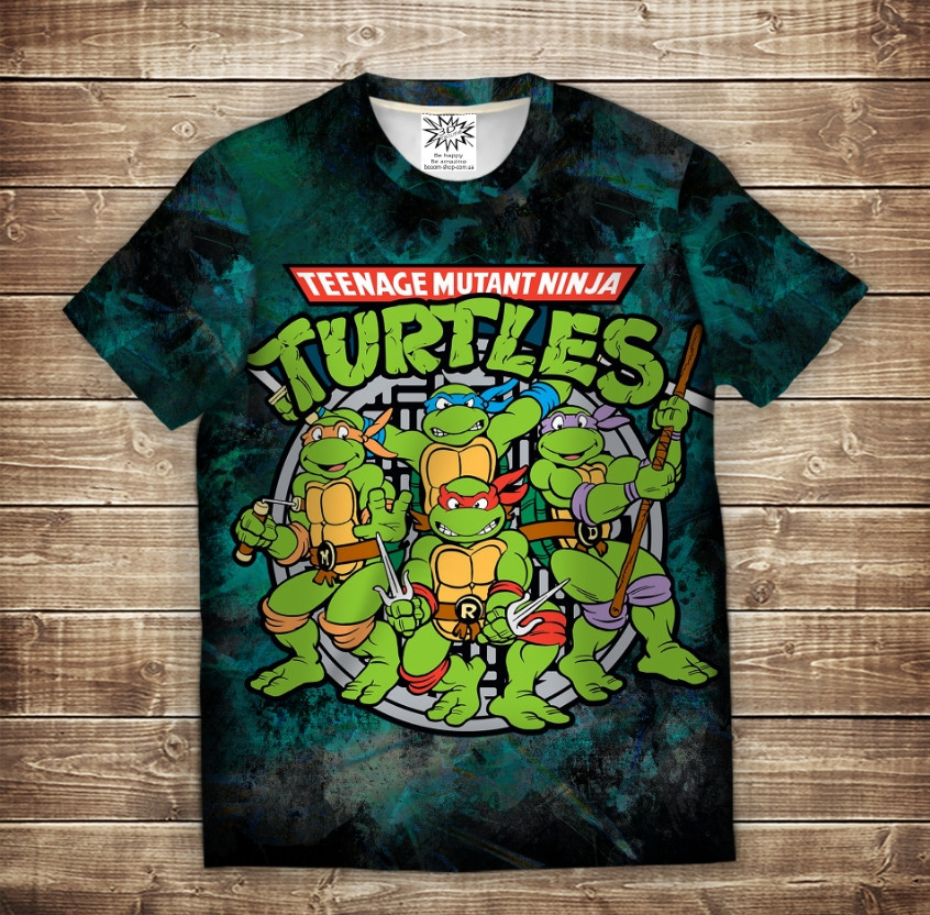 Футболка 3D Turtles