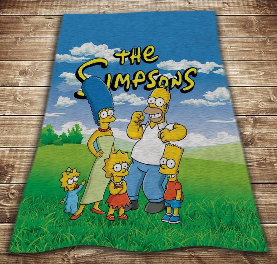 Плед з 3D принтом - The Simpsons