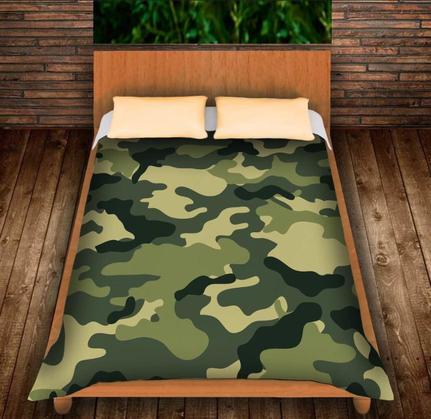 Плед з 3D принтом -Camuflage classic