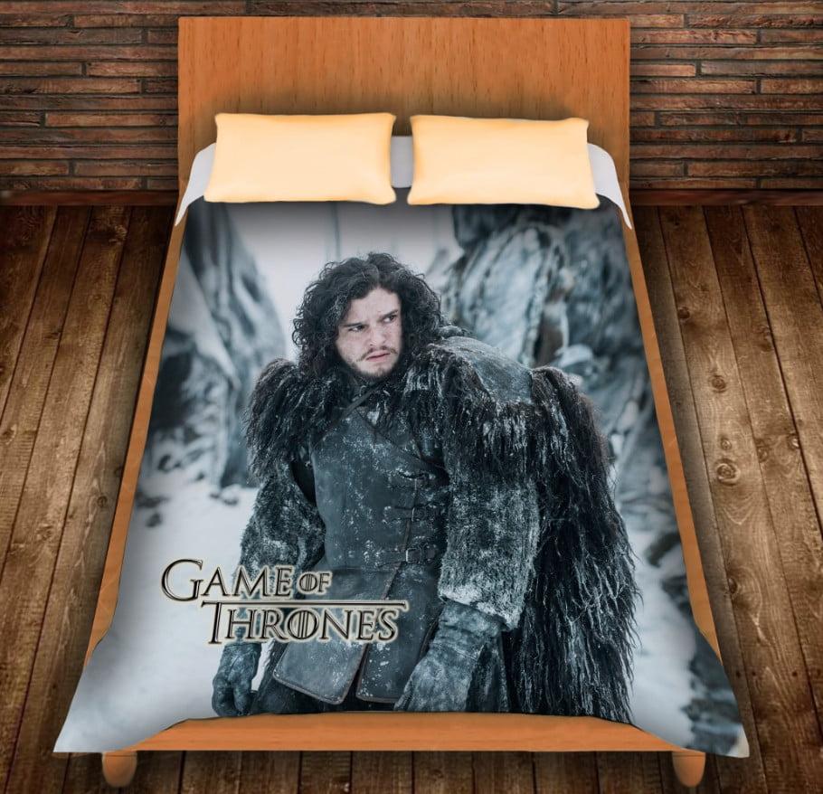 Плед з 3D принтом -Game of Thrones Jon Snow