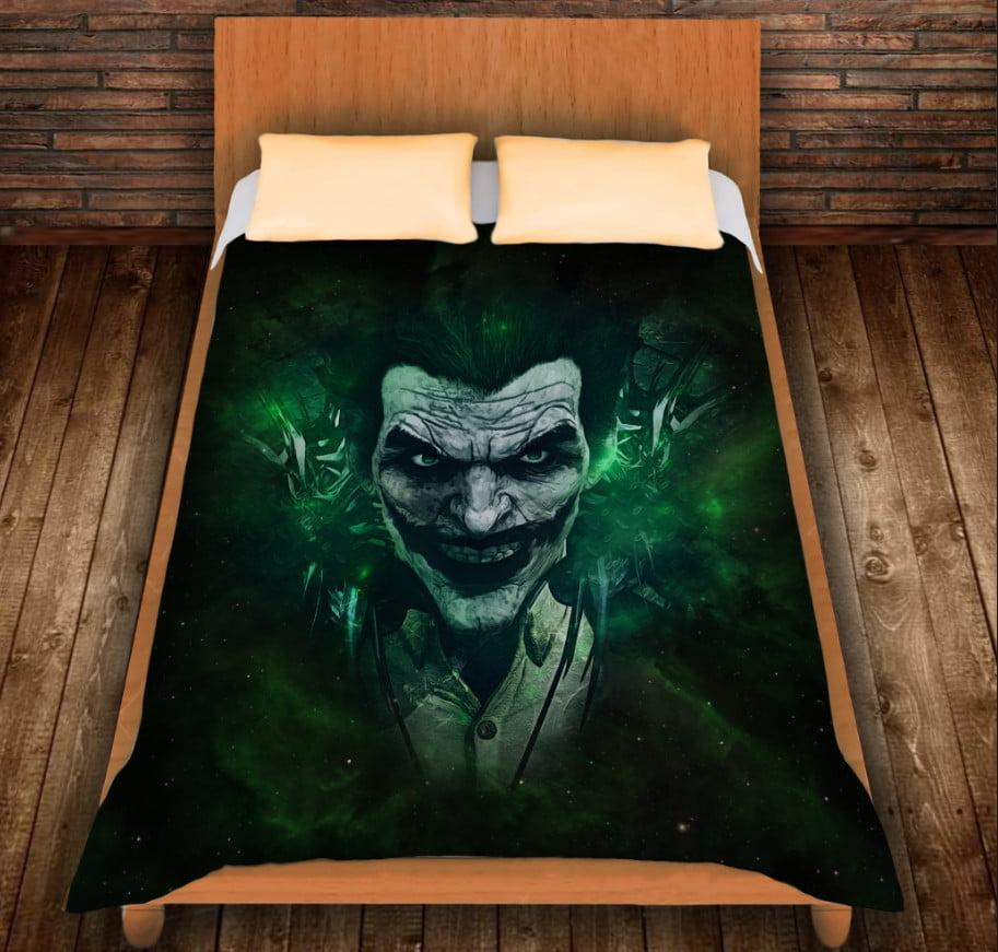 Плед з 3D принтом -Зелений Джокер