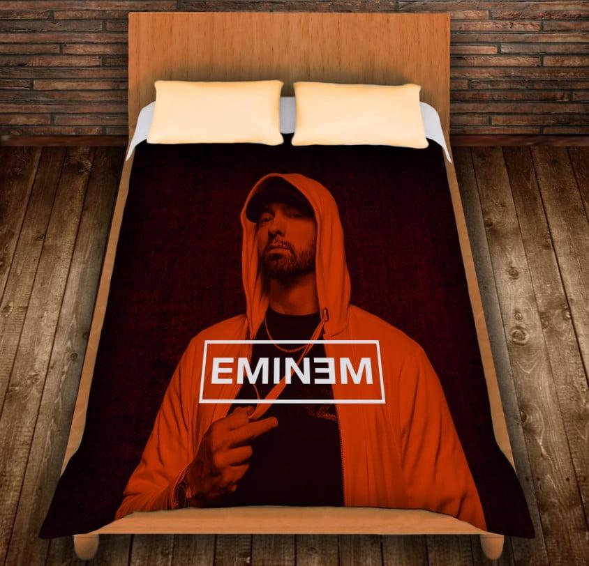 Плед з 3D принтом -Eminem Face