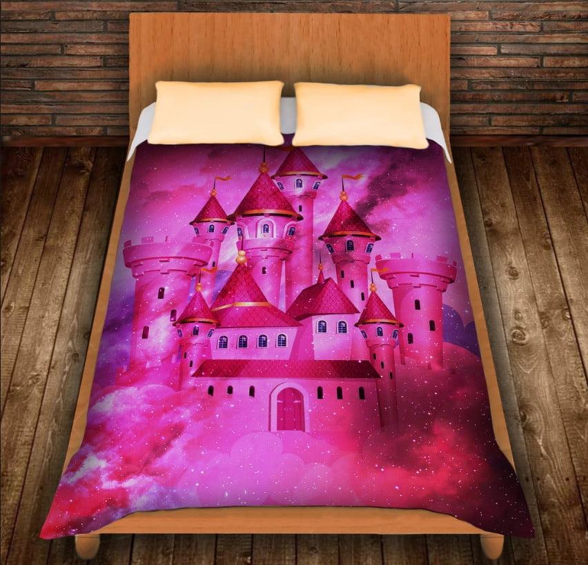 Плед з 3D принтом -Чарівний Замок Мрій