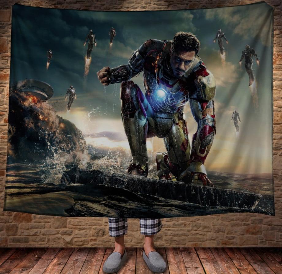 Плед з 3D принтом -Iron Man/Залізна Людина