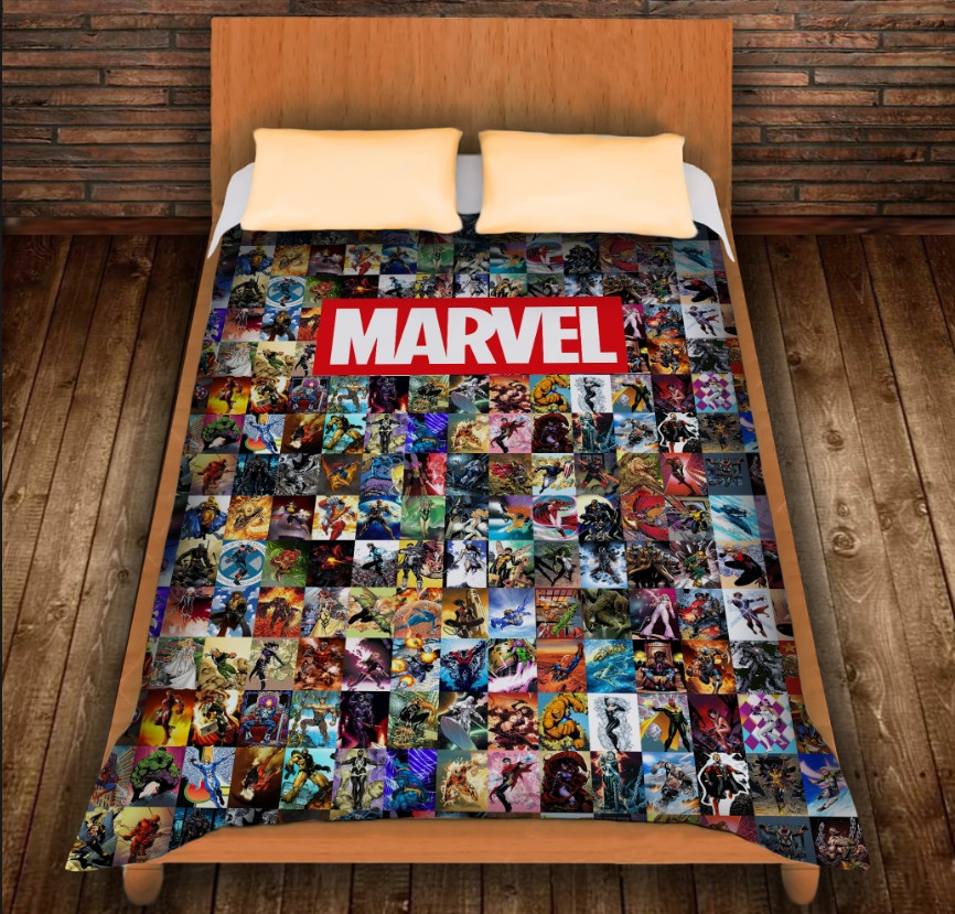 Плед з 3D принтом - Marvel