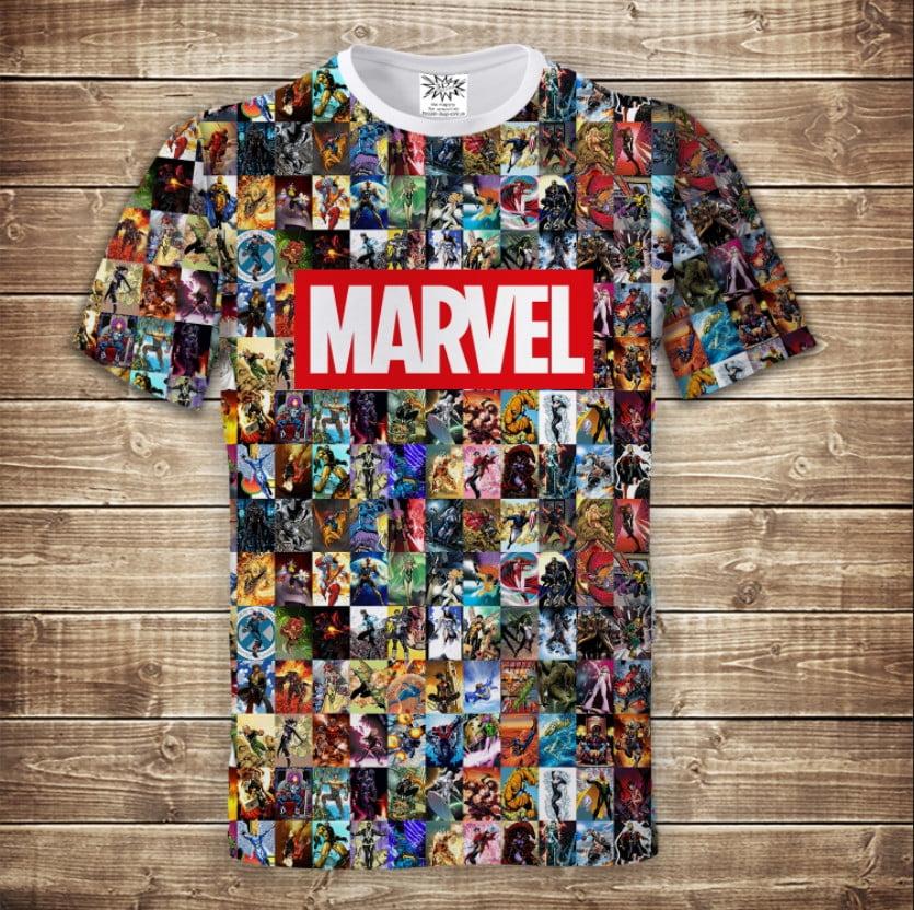 Футболка 3D Marvel