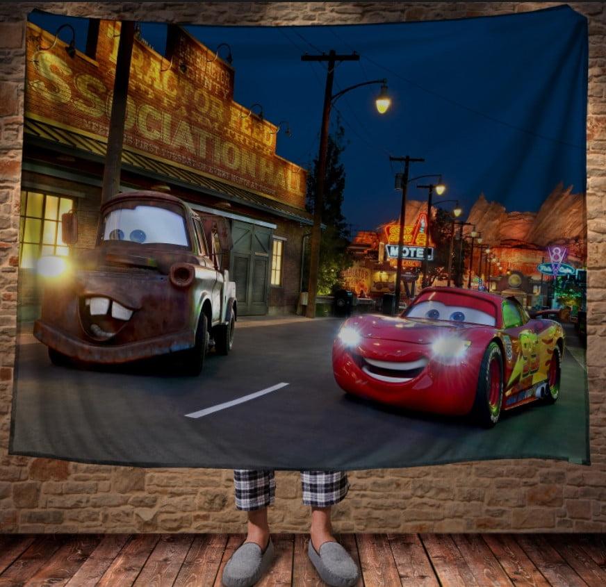 Плед з 3D принтом - Cars Макуін і Метр - Тачки