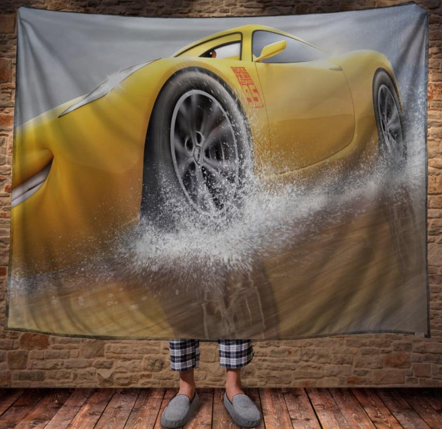Плед з 3D принтом - Cars Тачки CRUZ RAMIREZ