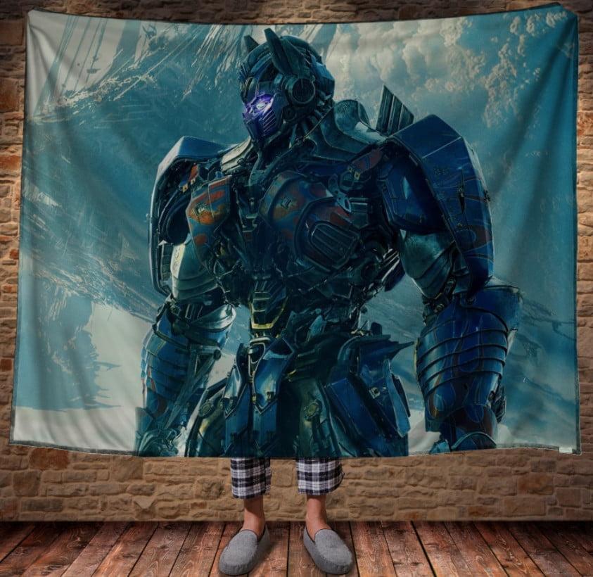Плед з 3D принтом - The Transformers Optimus Prime