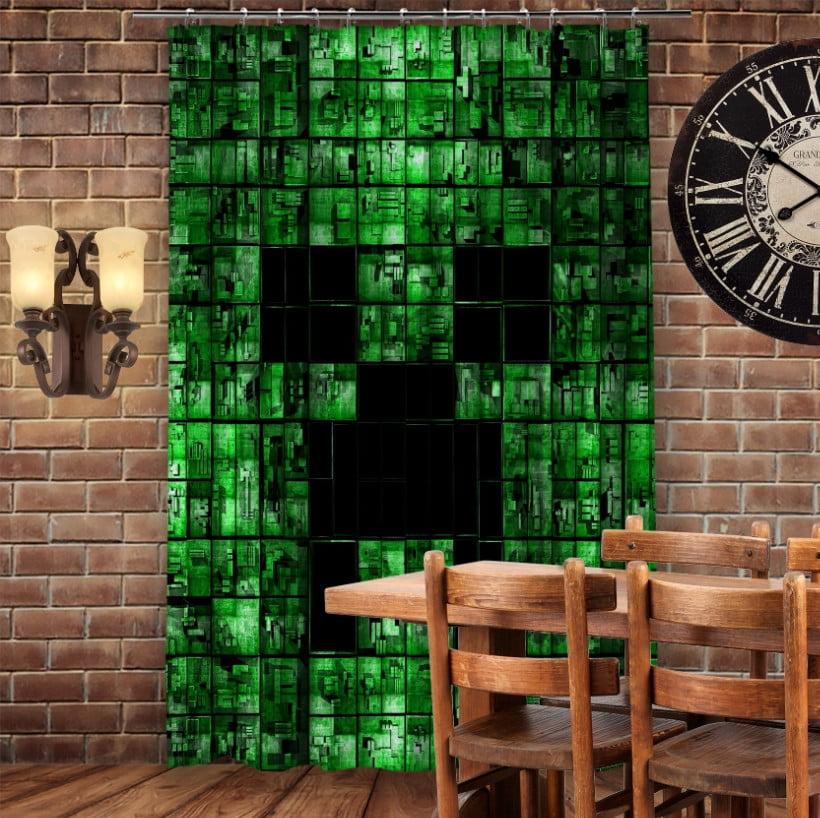 Штори 3D з принтом- Minecraft My Life