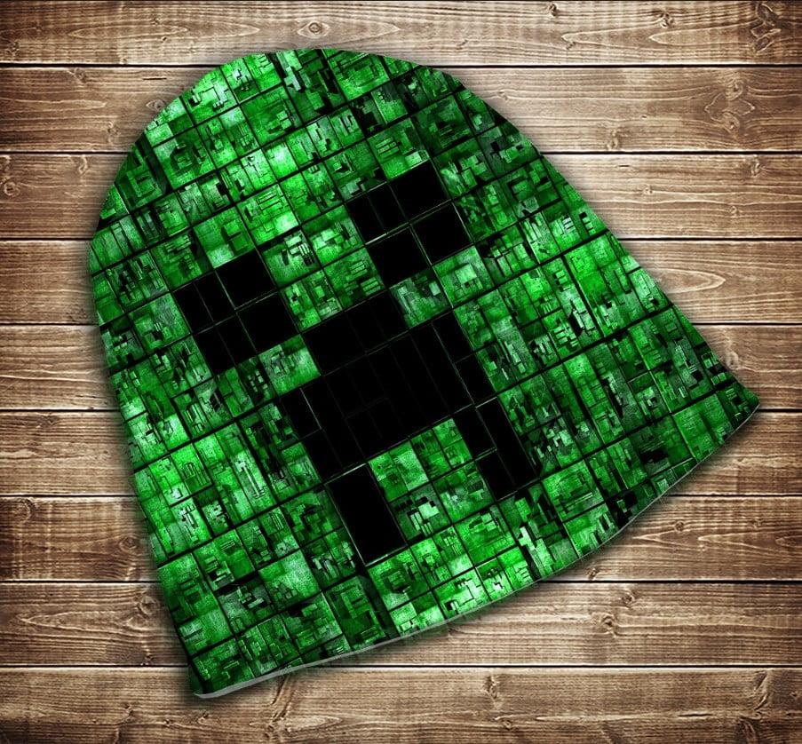 Шапка з 3D принтом  Minecraft My Life Всі розміри