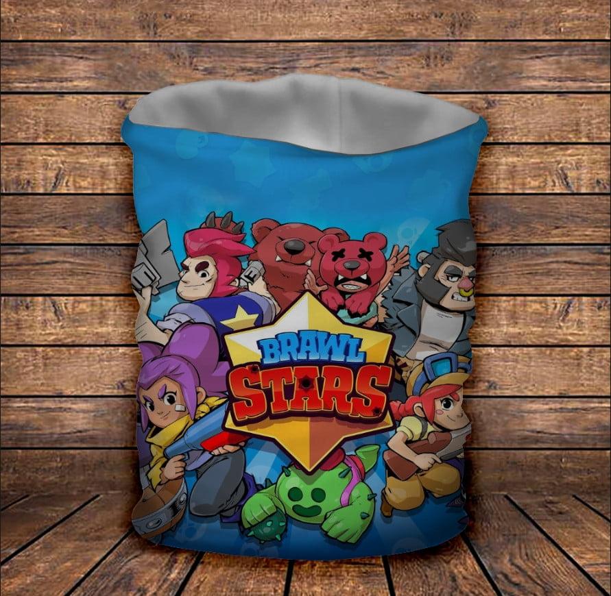 Бафф з 3D принтом Brawl Stars Classic Бравл старс всі герої
