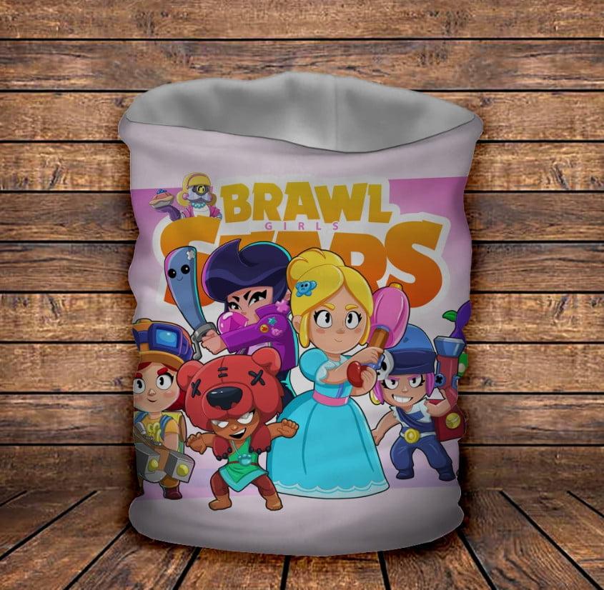 Бафф з 3D принтом Brawl Stars Girls