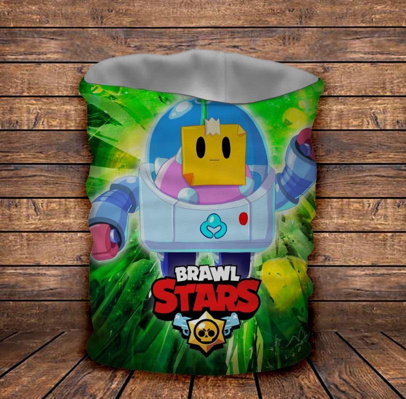 Бафф з 3D принтом Spraut Brawl Stars