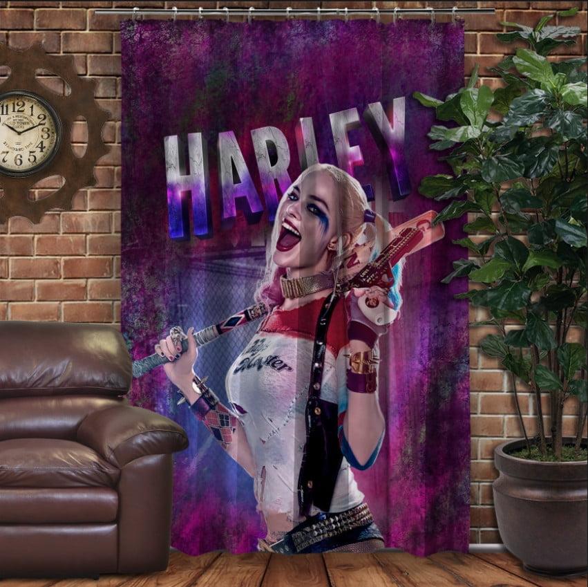 Штори 3D з принтом- Харлі Квін/  harley quinn