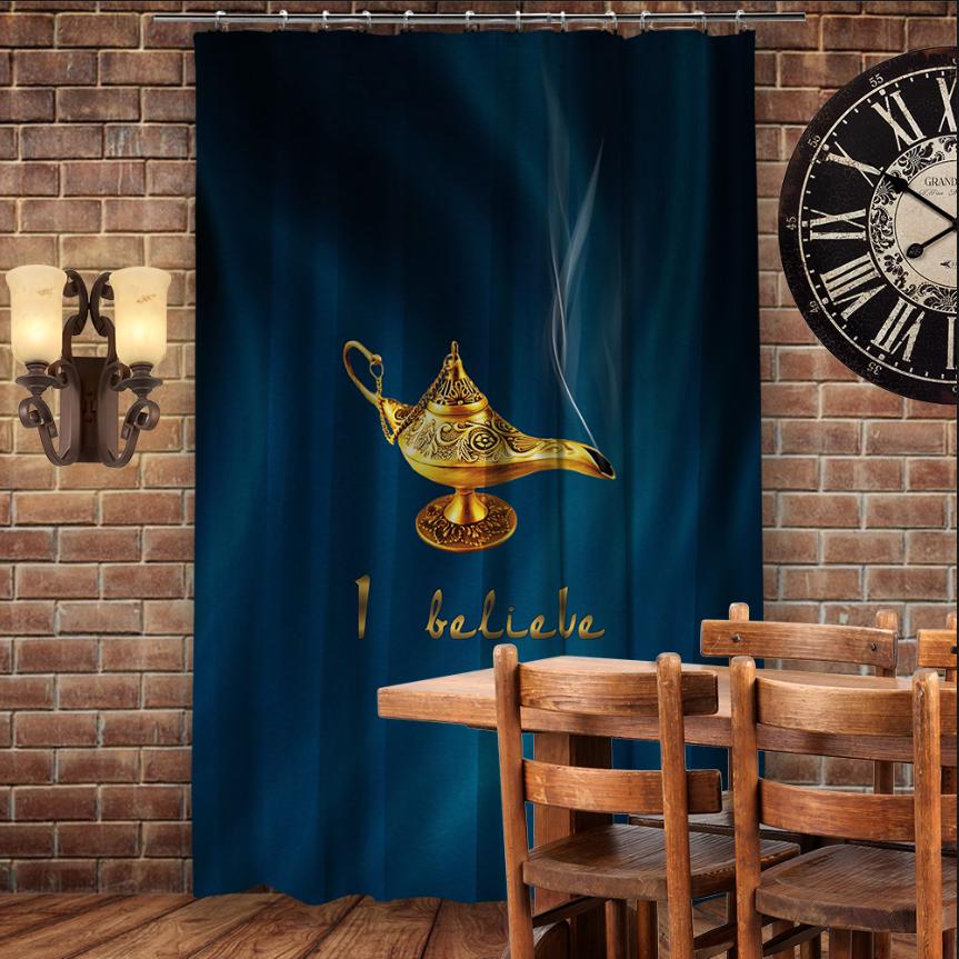Штори 3D з принтом- Чарівна Лампа Алладина