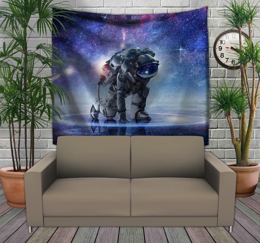 Панно з 3D з принтом Космонавт