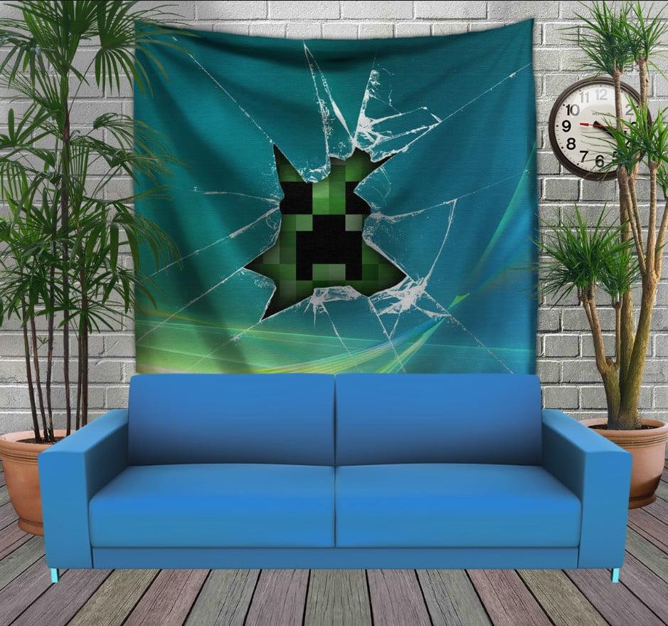 Панно з 3D з принтом Minecraft Earth