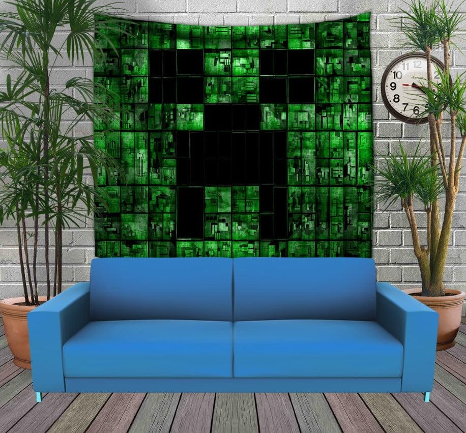 Панно з 3D з принтом  Minecraft My Life