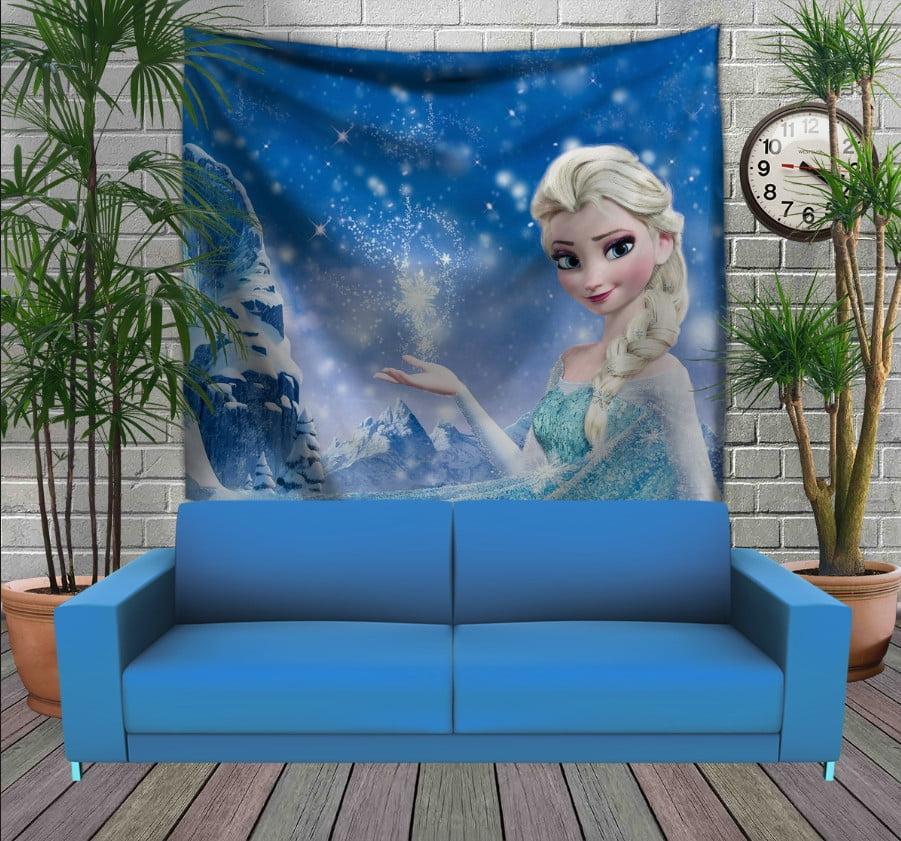 Панно з 3D з принтом  Frozen. Ельза