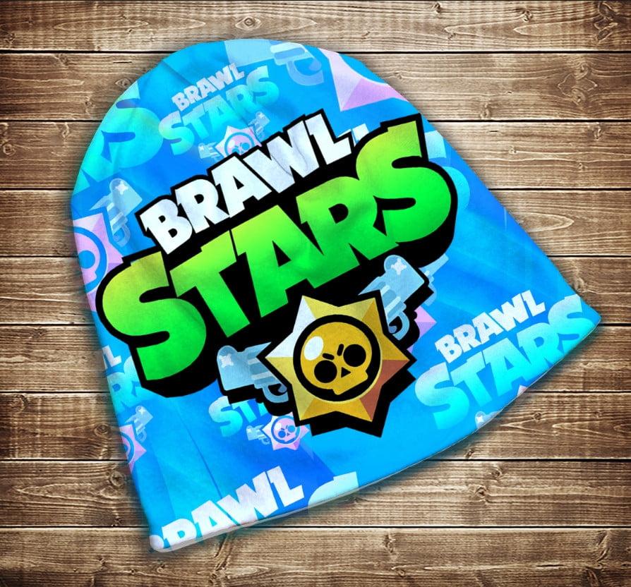 Шапка з 3D принтом -  Фанату Бравл Старс Brawl Stars Всі розміри