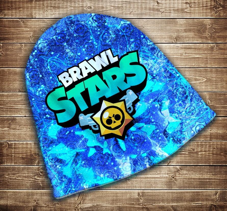Шапка з 3D принтом -  Бравл Старс Brawl Stars Всі розміри