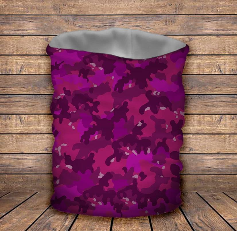 Бафф з 3D принтом Pink camuflage