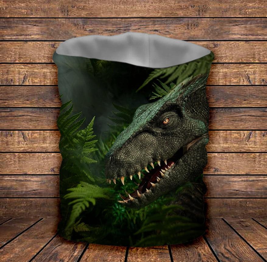 Бафф з 3D принтом  Динозавр в джунглях