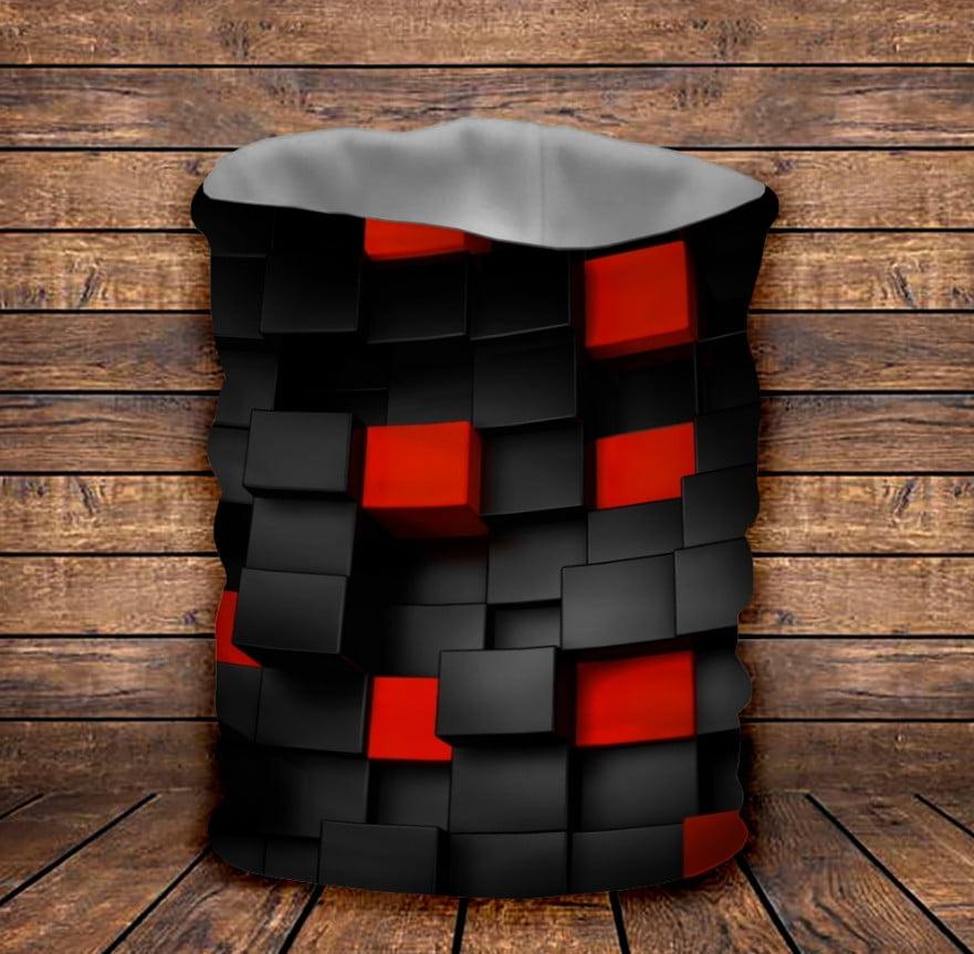 Бафф з 3D принтом  Undegraund red cub