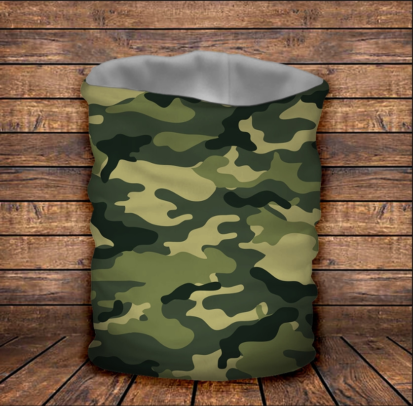 Бафф з 3D принтом Camuflage classic