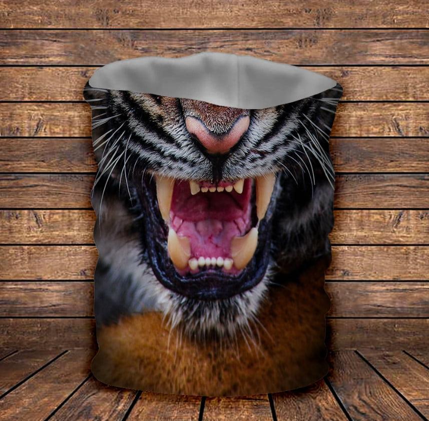 Бафф з 3D принтом  Оскал Тигра