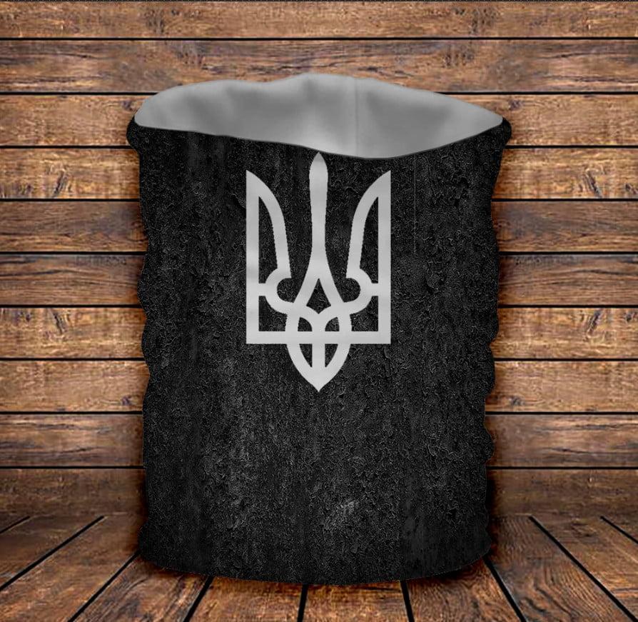 Бафф з 3D принтом  с гербом Украины