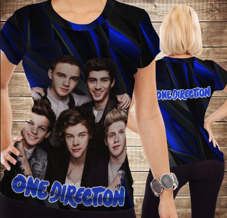 Футболка з принтом One Direction