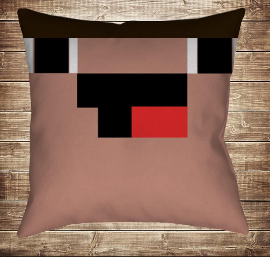 Подушка Minecraft Нубик 70х70