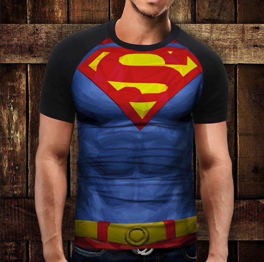 Футболка 3D Супермен емблема