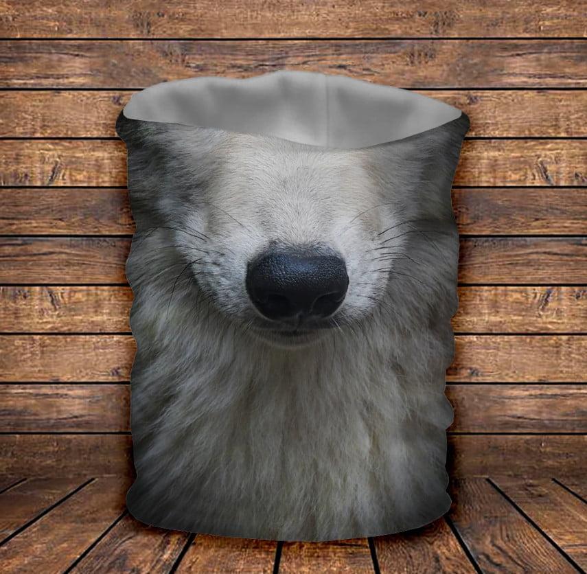 Бафф Белый волк Детские и взрослые размеры