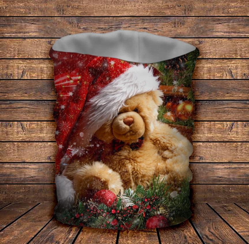 Бафф Рождественский мишка Тедди Детские и взрослые размеры