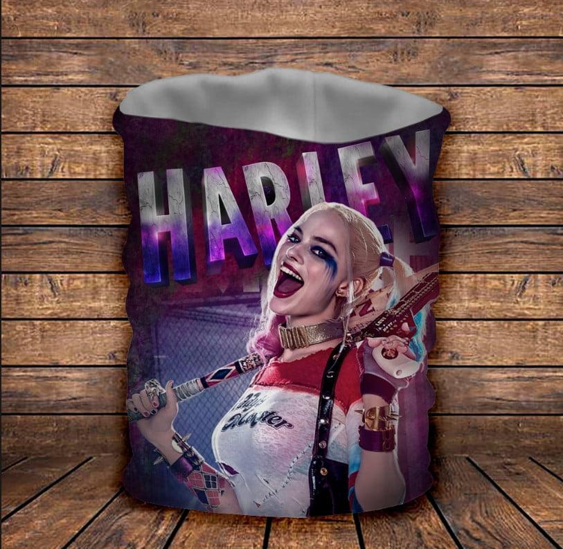 Бафф Харли Куин Harley Quinn Детские и взрослые размеры
