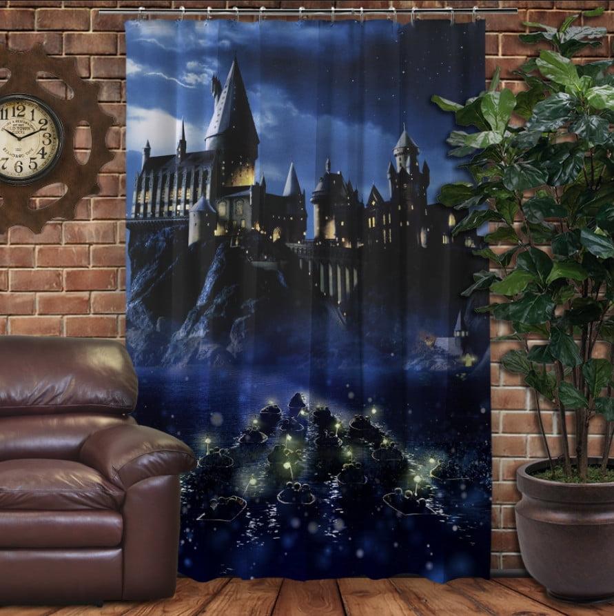 Штора с 3D принтом на тему - Гарри Поттер Перед битвой