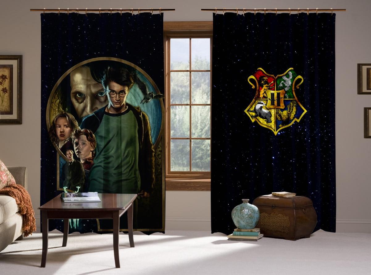 Шторы с 3D принтом на тему: Гарри Поттер и узник Азкабана